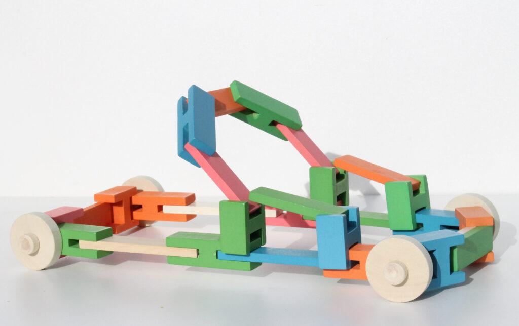 Luco planken en blokken = AUTO