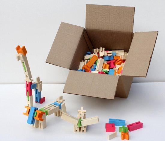 houten blokken voor scholen