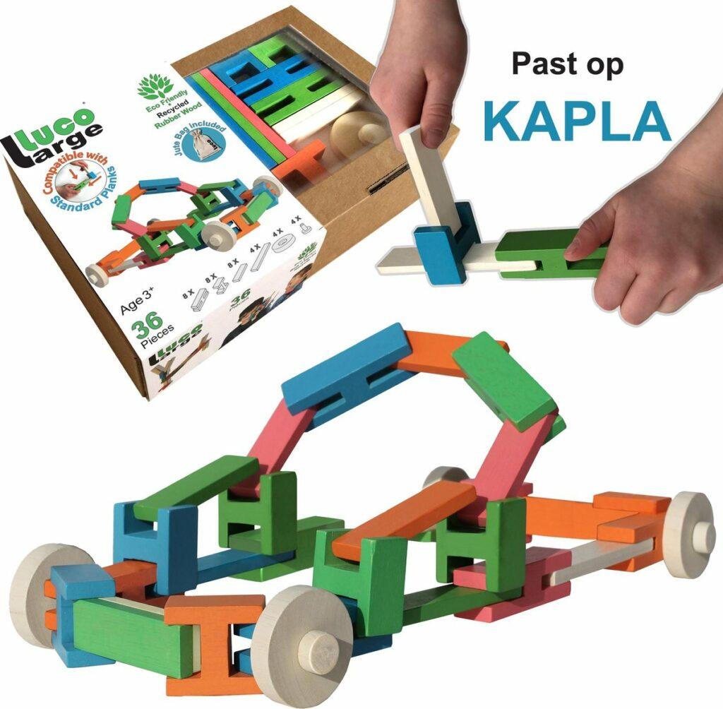 houten blokken, luco large uitbreiding voor kapls